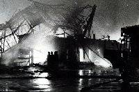 A serious fire all but destroyed Kirkgate Market on December 13, 1975