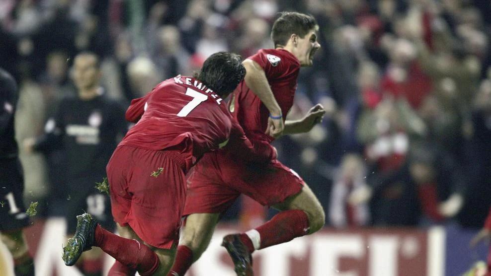 Classic Liverpool Champions League goals