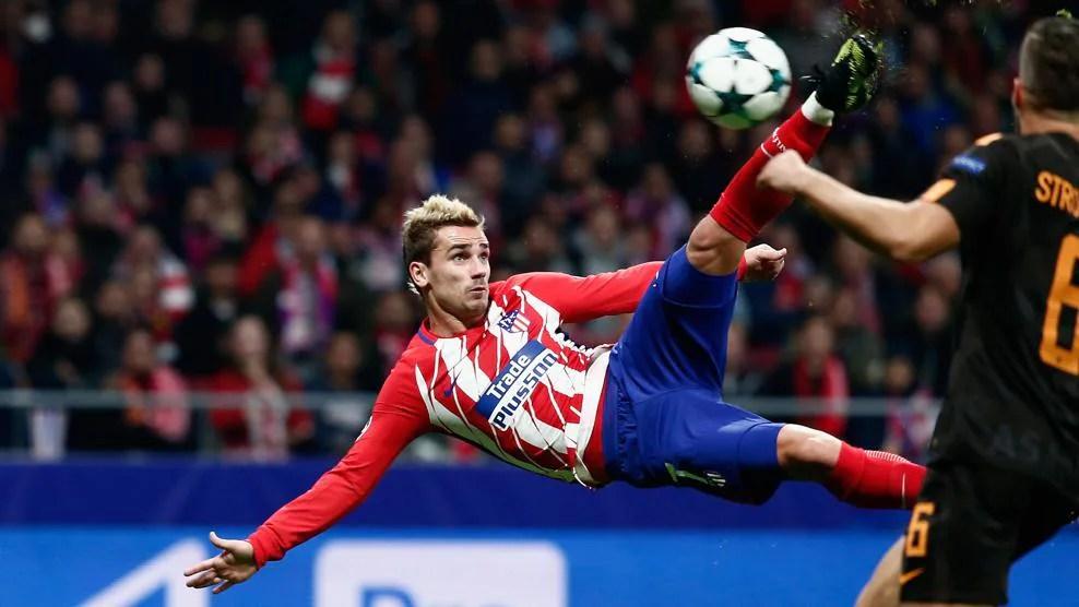 Classic Atlético Champions League goals