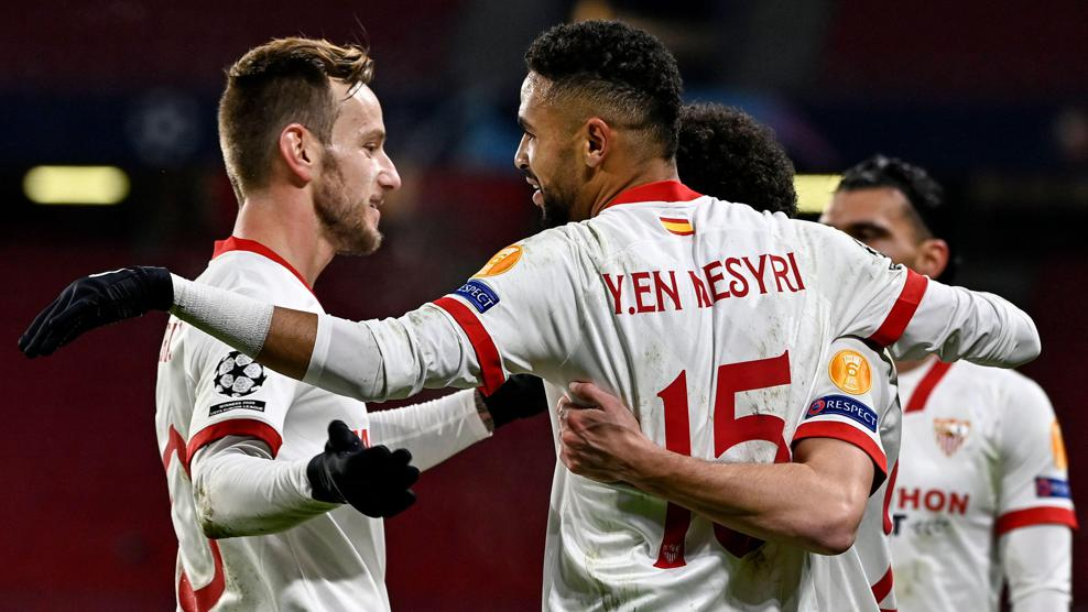 All of Sevilla's 2020/21 group stage goals