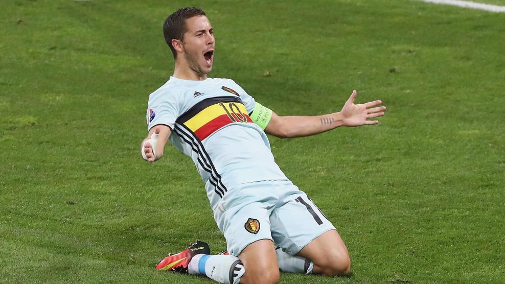 Grandes goles de Bélgica en la EURO