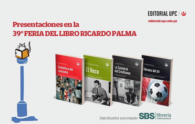 39° Feria deL Libro Ricardo Palma
