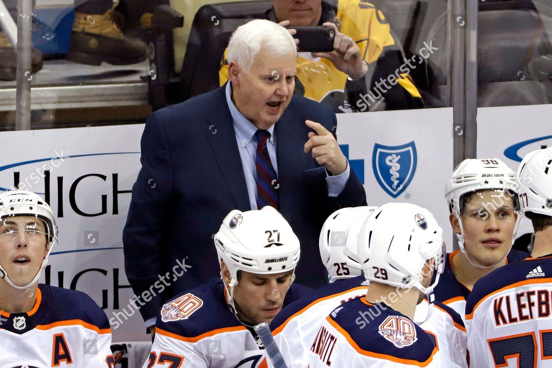 Ken Hitchcock Oilers
