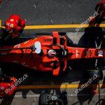 Leclerc Charles Mco Scuderia Ferrari Sf90 Action Editorial Stock Photo Stock Image Shutterstock