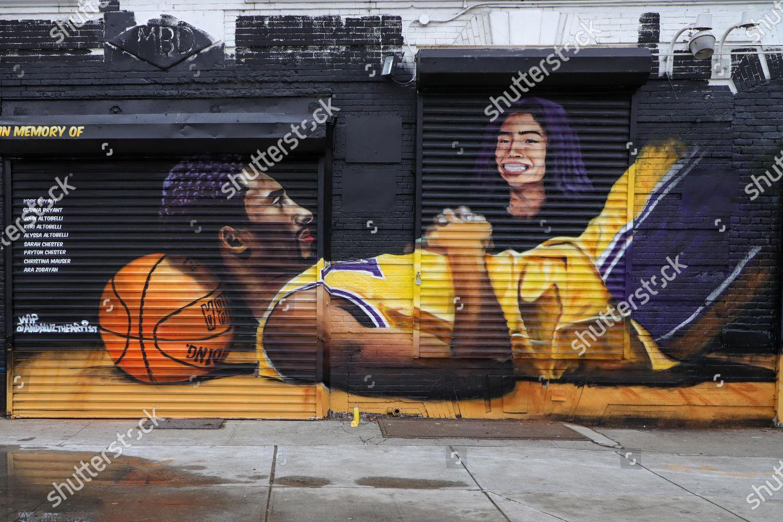 Enjoy straightforward pricing and simple licensing. Mural Honor Nba Legend Kobe Bryant His Editorial Stock Photo Stock Image Shutterstock