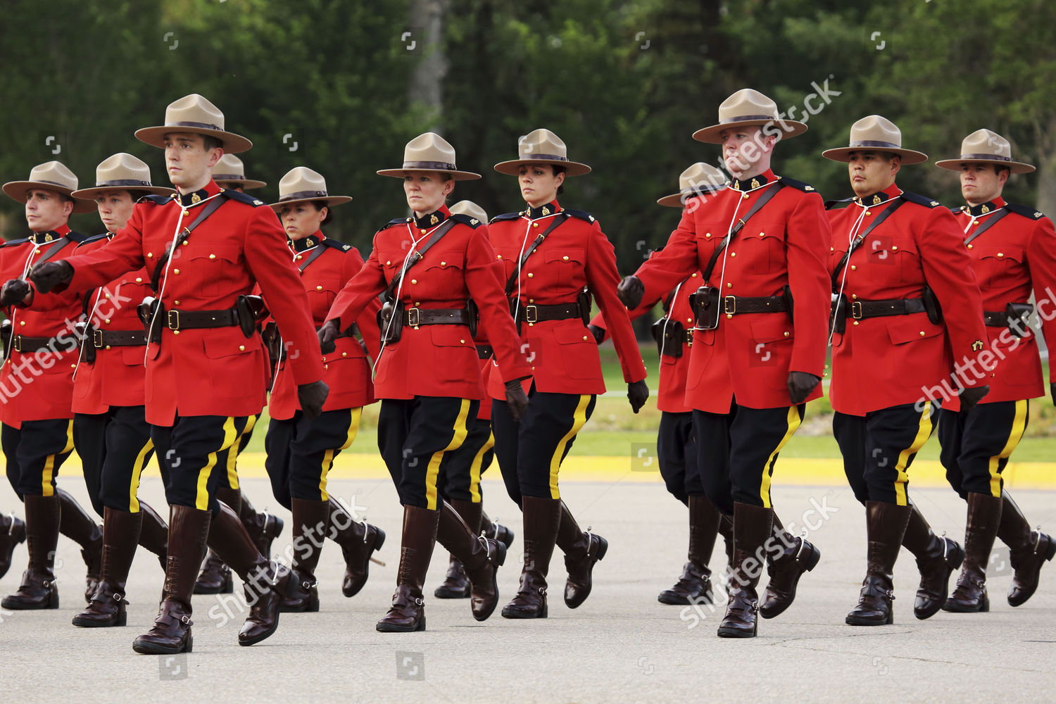 Sunset Retreat Ceremony Royal Canadian Mounted Police