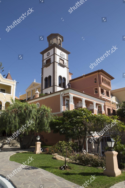 Garden Gran Hotel Bahia Del Duque Costa Editorial Stock