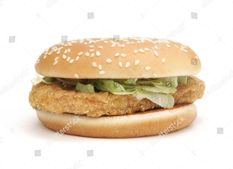 mcdonalds mcchicken sandwich editorial