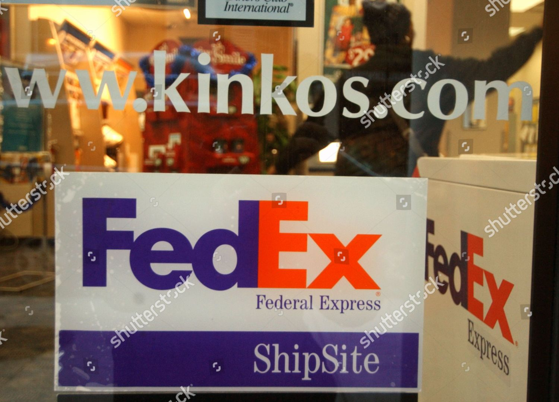 fed ex kinkos sign