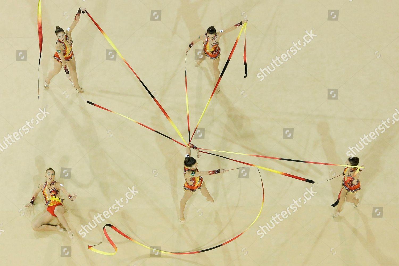 hight resolution of canada pan am games rhythmic gymnastics toronto canada