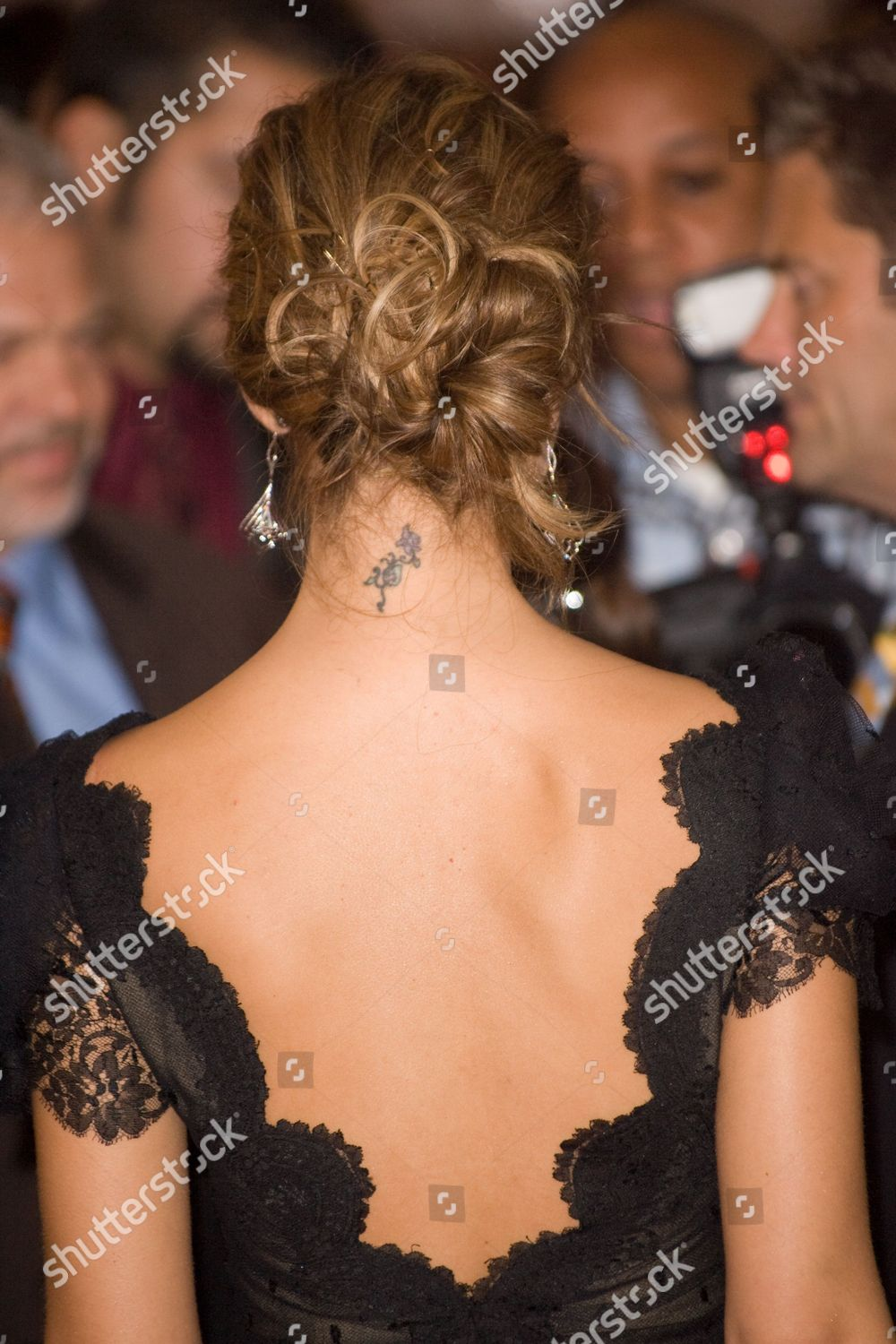Jessica Alba Tattoo Back
