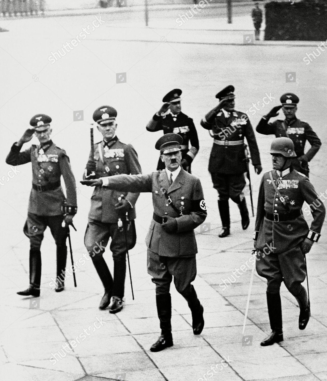 Adolf Hitler Herr Adolf Hitler saluting troops Editorial Stock Photo - Stock Image   Shutterstock
