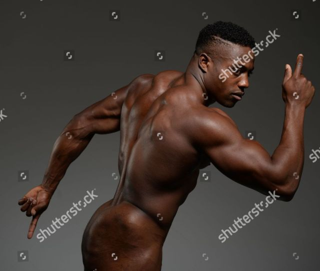 M Sprinter And Gb Athlete Harry Aikines Aryeetey Poses Naked Pic Andy Hooper