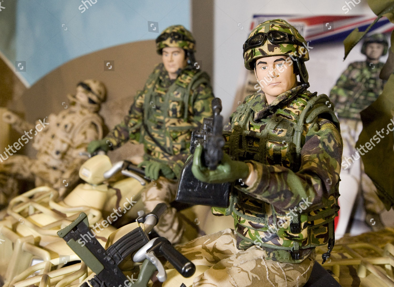 Hmarmed Forces Military Action Figures Editorial Stock Photo Stock Image Shutterstock