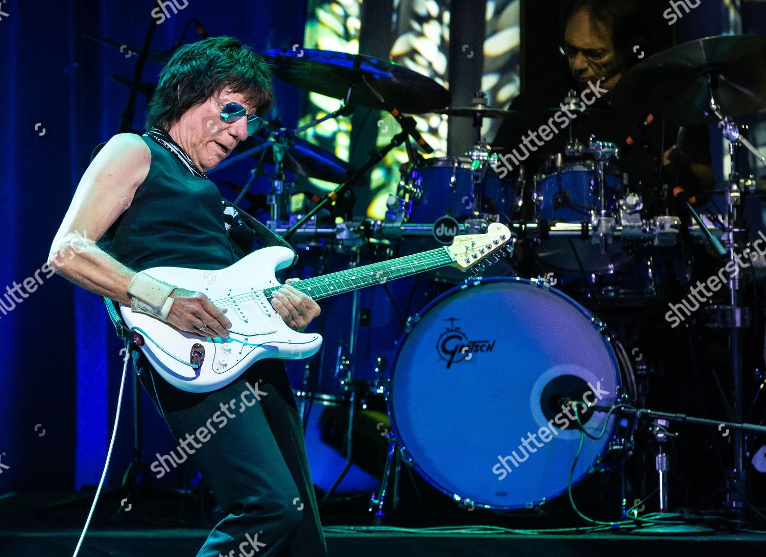 hight resolution of stock photo of jeff beck in concert acl live moody theater austin usa