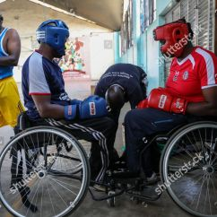 Wheelchair Fight Fishing Chair Canada Kenyan Paraboxers Prepare During Training Session Editorial Stock Photo Of Boxing In Kenya Nairobi 16 Nov 2018