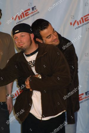 Carson Daly And Fred Durst : carson, durst, Durst, Bizkit, Editorial, Stock, Photo, Image, Shutterstock