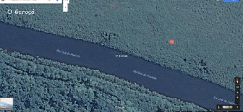 Google fotografa luzes no céu de Peruíbe