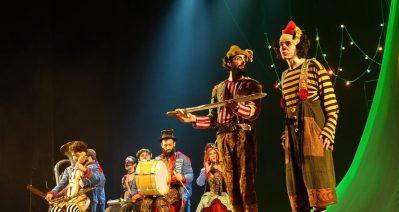 Musical homenageia Ariano Suassuna mesclando circo e teatro