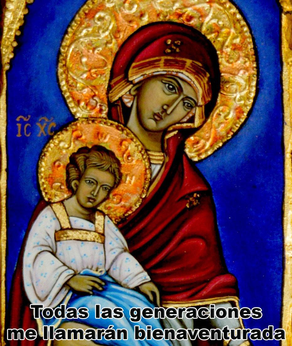 La Virgen María mediadora entre Dios y los seres humanos