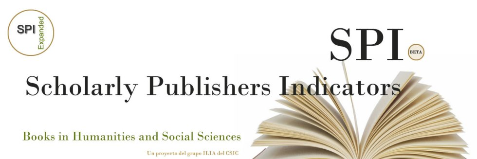 logo scholarly publishers indicators