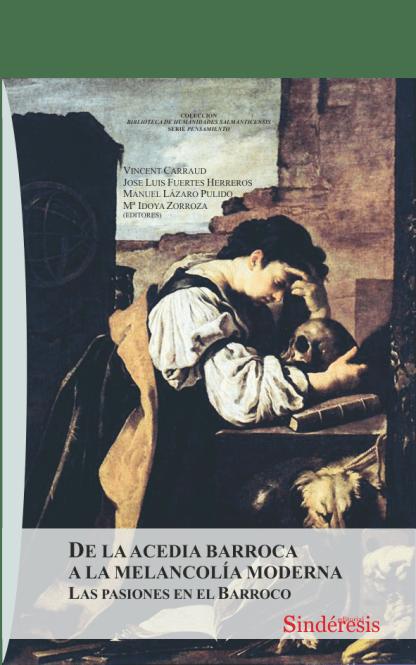 portada de la acedia barroca a la melancolia moderna