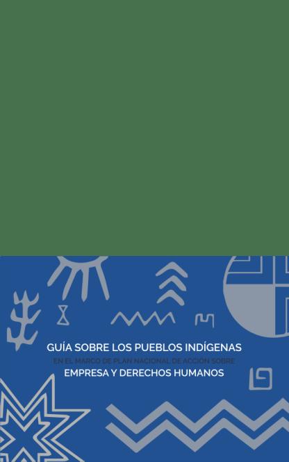 portada guia sobre los pueblos indígenas
