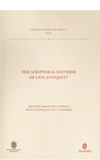 portada the scriptural universe of late antiquity