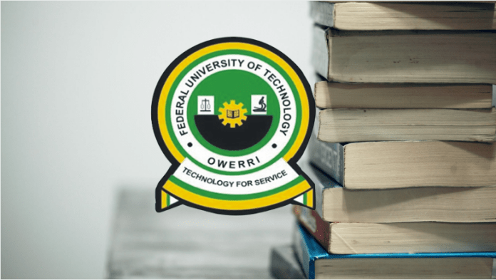 FUTO Cut Off Mark | www.futo.edu.ng - All Courses & Department