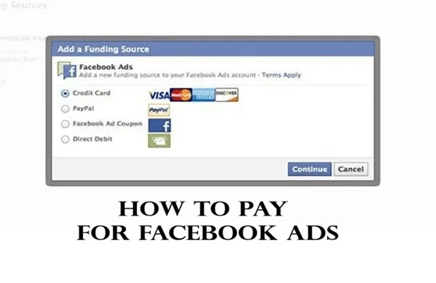 Ways to Pay for Facebook Ads