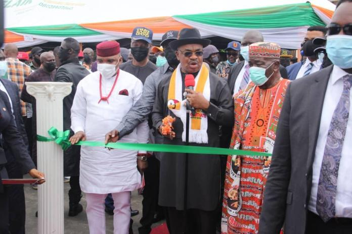 Governor Udom Emmanuel Inaugurates More Projects in Uyo to Mark State Anniversary