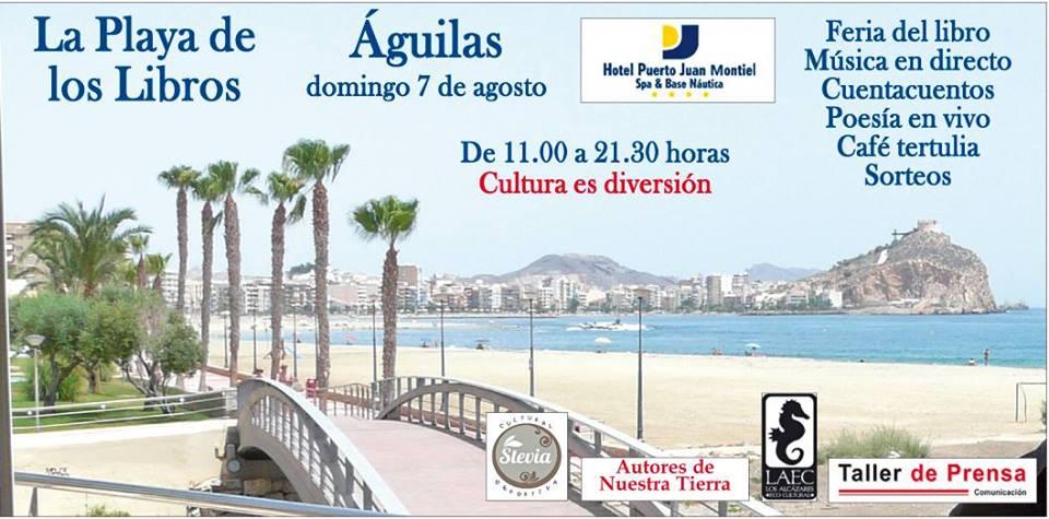 """Editorial Tirano Banderas estará presente en """"La Playa de los Libros de Águilas"""" juntos a algunos de sus autores"""
