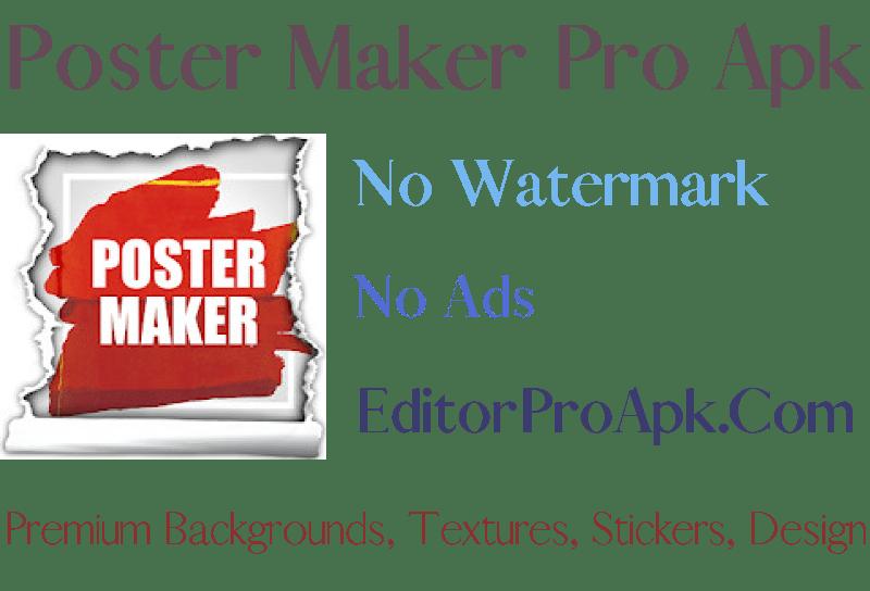 poster maker pro apk