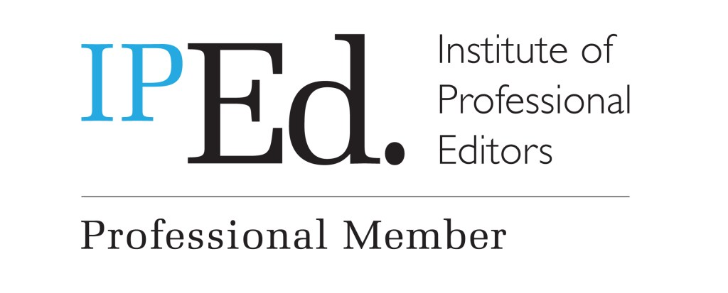 Logo for Institute of Professional Editors