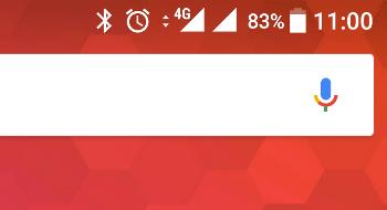 Dual SIM icons