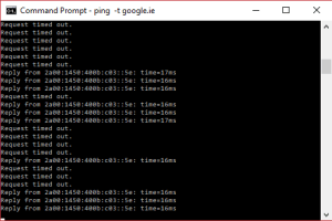 Eir IPv6 packet loss issue