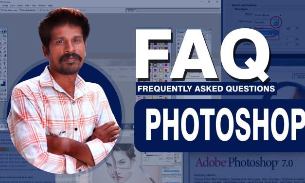 FAQ on Photoshop and Graphic Design