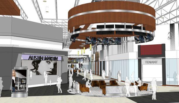 Vaughan Mills Expansion Entry Court- Sport Neighbourhood