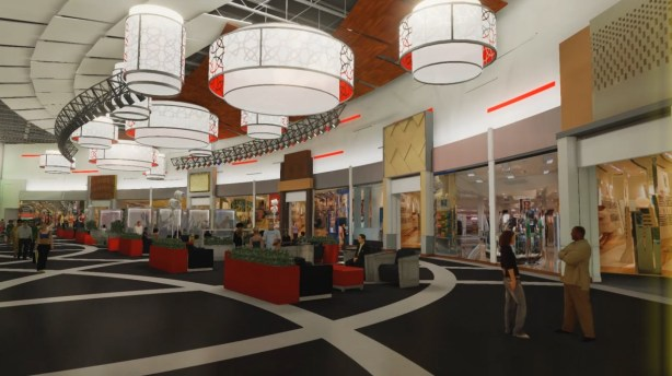 Vaughan Mills Expansion Event Court Rendering (2)