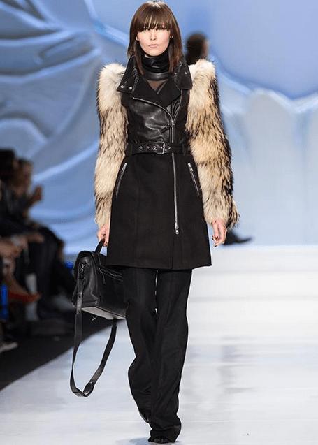 Mackage fur sleeves