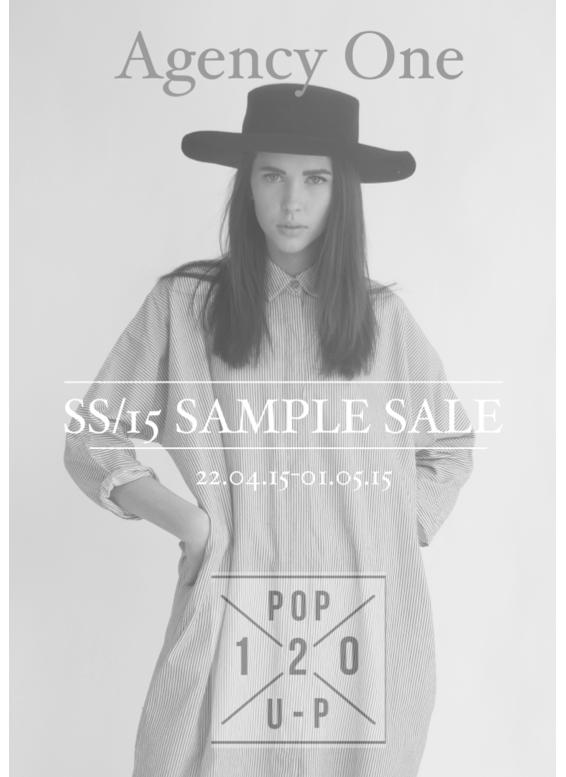 agency one sample sale toronto