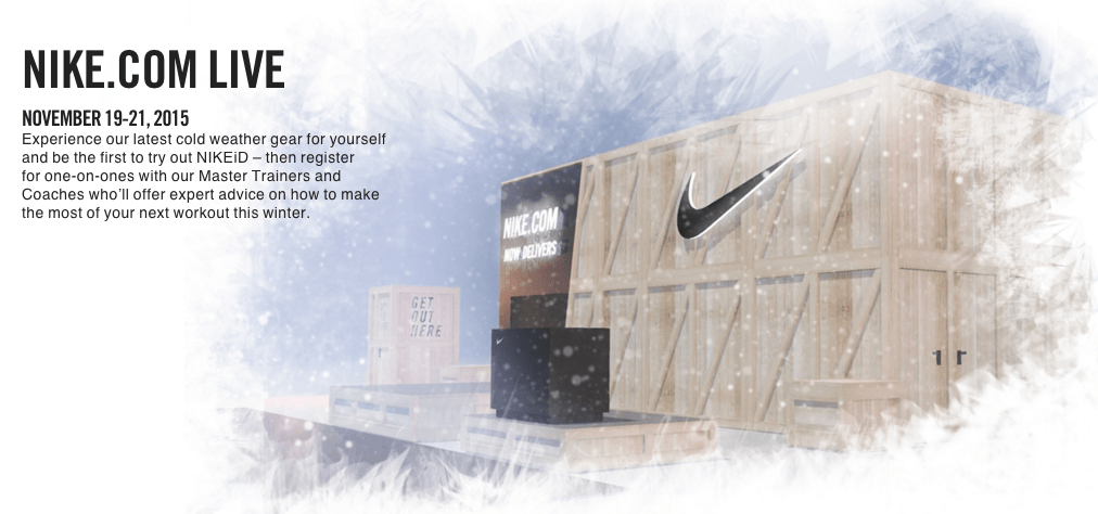 NIKEiD Canada with Nike.com LIVE in Toronto