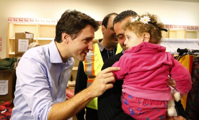 justin trudeau + syrian refugees 3