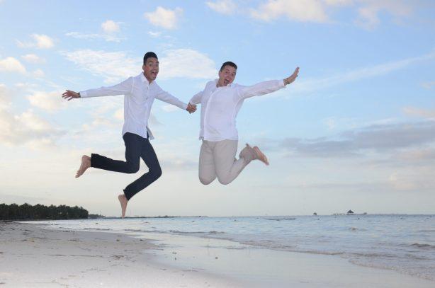 daniel and julio destination wedding punta cana