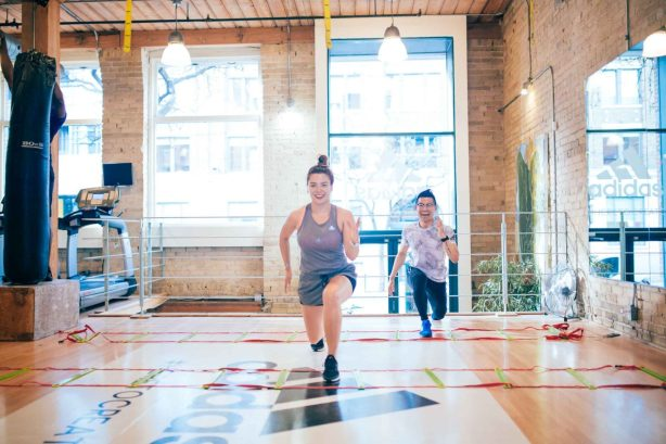 Gracie Carroll - free Adidas workout in Toronto - Julian Ho - Totum Life Science