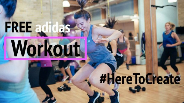 free adidas workout toronto - gracie carroll