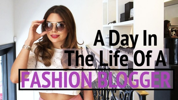 New Video! A Day In The Life of A Fashion Blogger ft. Yours Truly! - Gracie Carroll