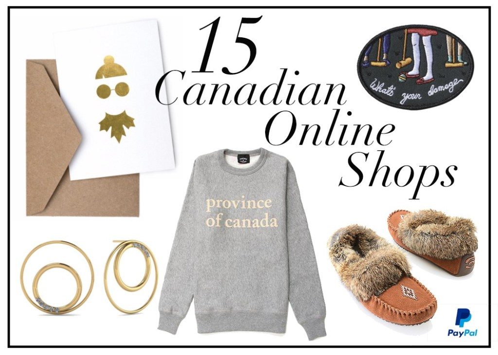 My Top 15 Canadian Online Stores You Can Shop with PayPal Canada