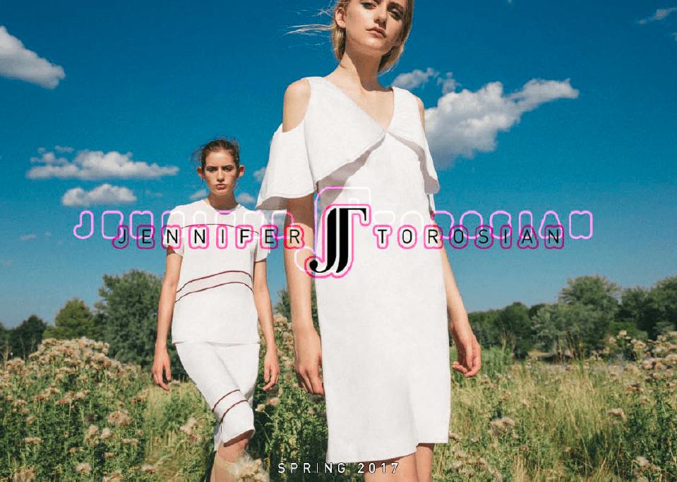 Jennifer Torosian Spring 2017 Lookbook