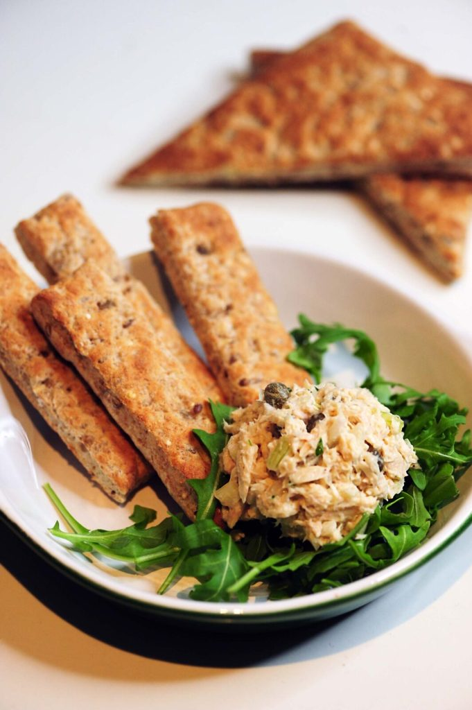 Gracie Caroll - My Tablespoon Tarragon Tuna Salad Recipe with Country Harvest Bakes